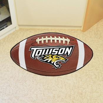 "20.5"" x 32.5"" Towson University Football Shape Mat"