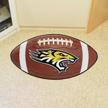 "20.5"" x 32.5"" Towson University Tigers Football Shape Mat"