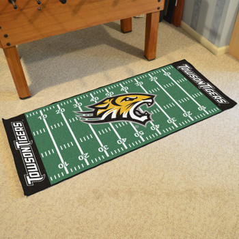 "30"" x 72"" Towson University Football Field Rectangle Runner Mat"