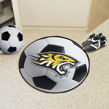 "27"" Towson University Soccer Ball Round Mat"