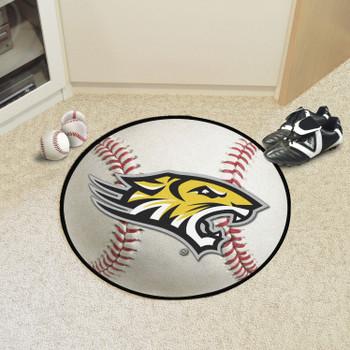 """27"""" Towson University Baseball Style Round Mat"""