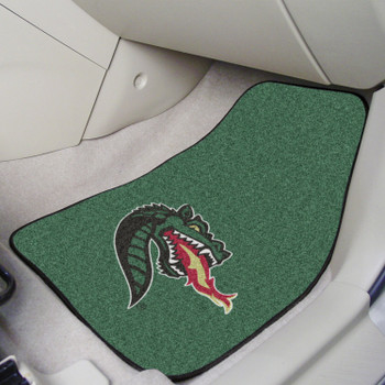 University of Alabama at Birmingham Green Carpet Car Mat, Set of 2