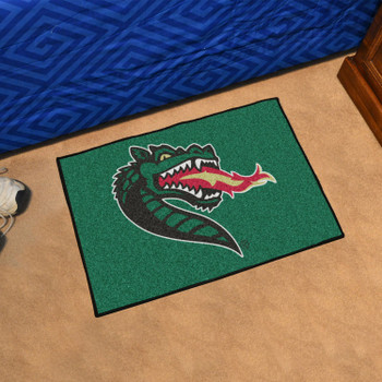 "19"" x 30"" University of Alabama at Birmingham Green Rectangle Starter Mat"