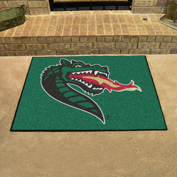 "33.75"" x 42.5"" University of Alabama at Birmingham All Star Green Rectangle Mat"