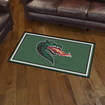3' x 5' University of Alabama at Birmingham Green Rectangle Rug