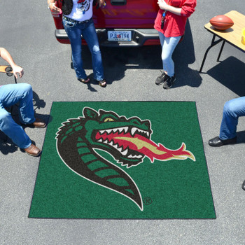 "59.5"" x 71"" University of Alabama at Birmingham Green Tailgater Mat"