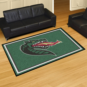 5' x 8' University of Alabama at Birmingham Green Rectangle Rug