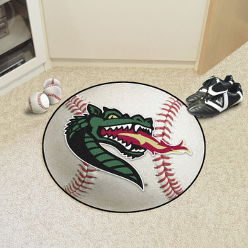 "27"" University of Alabama at Birmingham Baseball Style Round Mat"