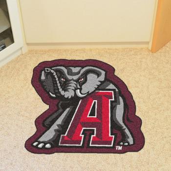 """University of Alabama Mascot Mat - """"Elephant"""" Logo"""