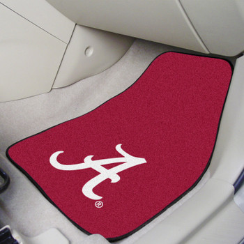 University of Alabama Carpet Car Mat, Set of 2