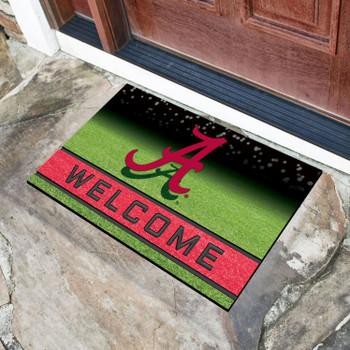 """18"""" x 30"""" University of Alabama Crumb Rubber Door Mat"""