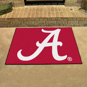 "33.75"" x 42.5"" University of Alabama All Star Red Rectangle Mat"