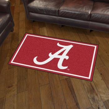 3' x 5' University of Alabama Red Rectangle Rug
