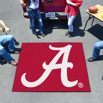 "59.5"" x 71"" University of Alabama Red Tailgater Mat"