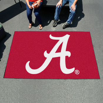 "59.5"" x 94.5"" University of Alabama Red Rectangle Ulti Mat"