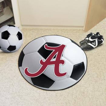 "27"" University of Alabama Soccer Ball Round Mat"