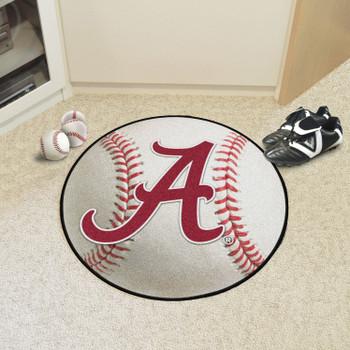 "27"" University of Alabama Baseball Style Round Mat"