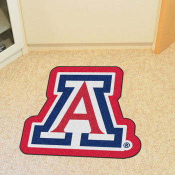 "University of Arizona Mascot Mat - ""A"" Primary Logo"