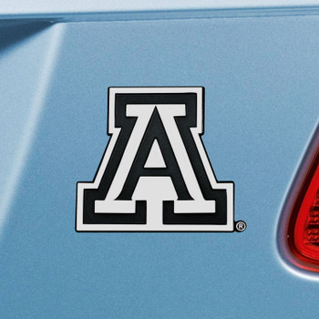 University of Arizona Chrome Emblem, Set of 2