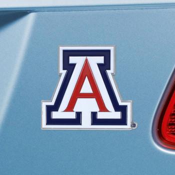 University of Arizona Red Color Emblem, Set of 2