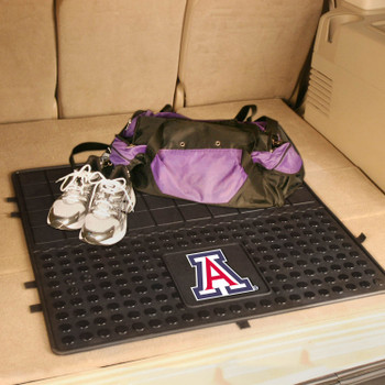 "31"" University of Arizona Heavy Duty Vinyl Cargo Trunk Mat"