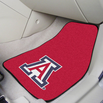 University of Arizona Red Carpet Car Mat, Set of 2
