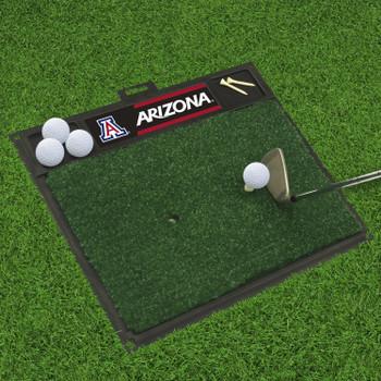 "20"" x 17"" University of Arizona Golf Hitting Mat"