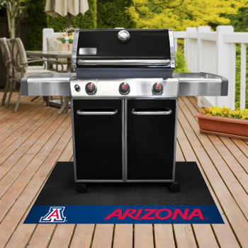 "26"" x 42"" University of Arizona Grill Mat"