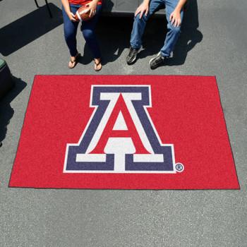 "59.5"" x 94.5"" University of Arizona Red Rectangle Ulti Mat"