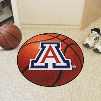 "27"" University of Arizona Basketball Style Round Mat"