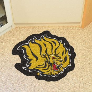 "University of Arkansas at Pine Bluff Mascot Mat - ""Lion"" Logo"