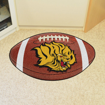 "20.5"" x 32.5"" University of Arkansas at Pine Bluff Football Shape Mat"