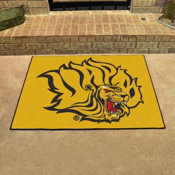 "33.75"" x 42.5"" University of Arkansas at Pine Bluff All Star Yellow Rectangle Mat"