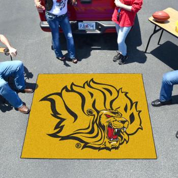 "59.5"" x 71"" University of Arkansas at Pine Bluff Yellow Tailgater Mat"
