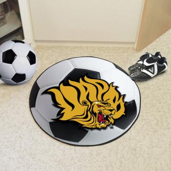 "27"" University of Arkansas at Pine Bluff Soccer Ball Round Mat"