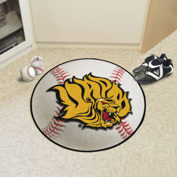 "27"" University of Arkansas at Pine Bluff Baseball Style Round Mat"