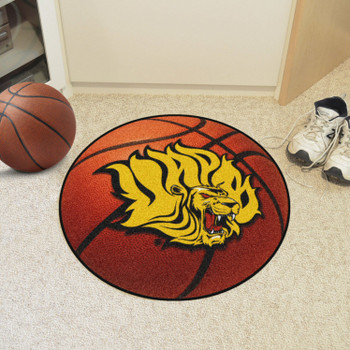 "27"" University of Arkansas at Pine Bluff Basketball Style Round Mat"