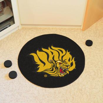 "27"" University of Arkansas at Pine Bluff Puck Round Mat - ""Lion"" Logo"