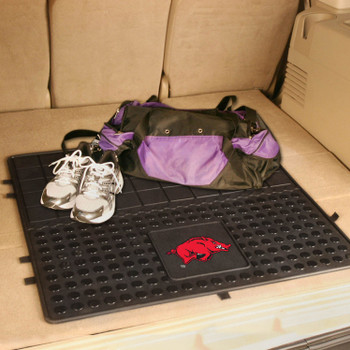 "31"" University of Arkansas Heavy Duty Vinyl Cargo Trunk Mat"