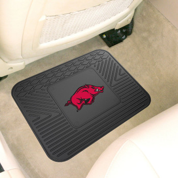 "14"" x 17"" University of Arkansas Car Utility Mat"