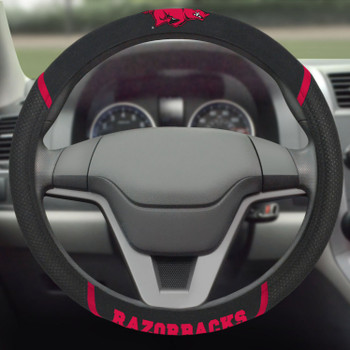 University of Arkansas Steering Wheel Cover