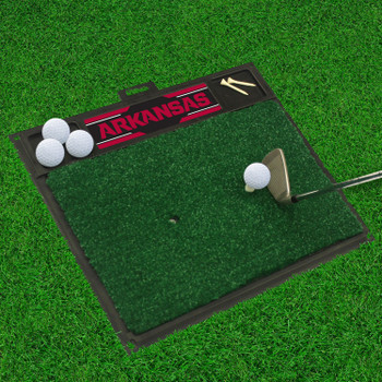 "20"" x 17"" University of Arkansas Golf Hitting Mat"