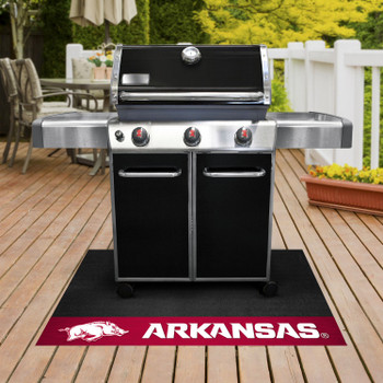 "26"" x 42"" University of Arkansas Grill Mat"