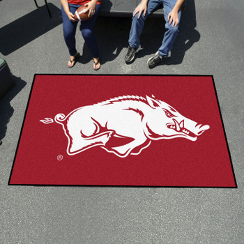 "59.5"" x 94.5"" University of Arkansas Red Rectangle Ulti Mat"