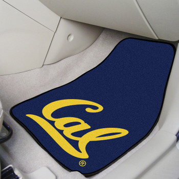 University of California - Berkeley Blue Carpet Car Mat, Set of 2