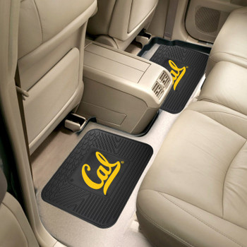 University of California - Berkeley Heavy Duty Vinyl Car Utility Mats, Set of 2