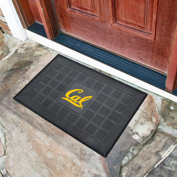 "19.5"" x 31.25"" University of California - Berkeley Medallion Rectangle Door Mat"