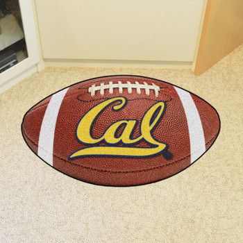 "20.5"" x 32.5"" University of California - Berkeley Football Shape Mat"
