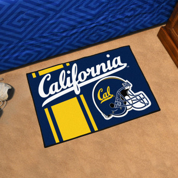 "19"" x 30"" University of California - Berkeley Uniform Blue Rectangle Starter Mat"