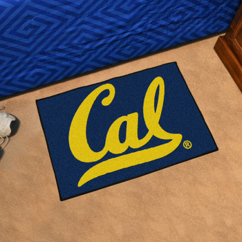 "19"" x 30"" University of California - Berkeley Blue Rectangle Starter Mat"